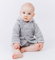 A1570W Knitted baby jacket